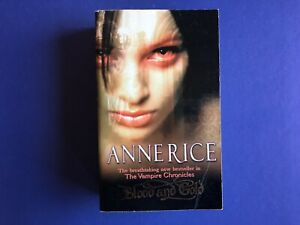 THE VAMPIRE CHRONICLES #8 : Blood And Gold By Anne Rice (2002) Paperback