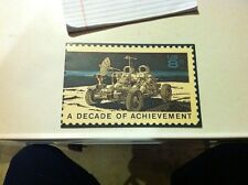United States in space a decade of achievement first day of issue Card 1971