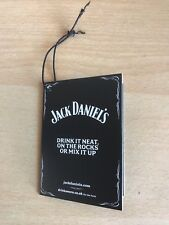 Jack Daniels Tennessee Whiskey Bottle Gift/ Tag UK EDITION   New From 2016
