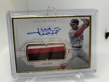 Juan Soto Definitive Collection Framed Autograph Patch Gold 10/15 🔥🔥🔥🔥🔥🔥