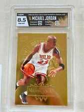 1995-96 Fleer Ultra Gold Medallion #25 Michael Jordan Chicago Bulls HOF HGA 8.5