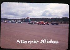 1964 35mm  Photo slide  automobile sports cars racing Oregon