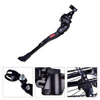 Aluminium Alloy Adjust Bike Kickstand Side Stand Accessory for 26-28inch Wheels