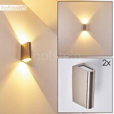 LED Design Aussen Wand Lampen Hof Garten Veranda Terrassen Beleuchtung 2er Set