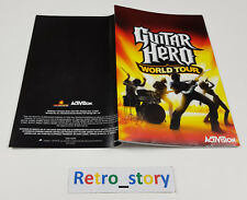 PS2 Guitar Hero World Tour Notice / Instruction Manual