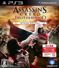 Used PS3 Assassin's Creed Brotherhood Speci PLAYSTATION 3 JAPAN JAPANESE IMPORT