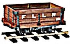 PECO 7mm 0-16.5 Scale Kit No Or-20 4 Ton Mineral Wagon. Great Little Trains