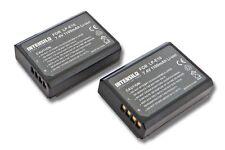 2x Batterie 1100mAh pour Canon EOS 1100 / 1300D LP-E10 LPE10 LP-E 10 ACCU