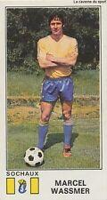 N°323 MARCEL WASSMER # FC.SOCHAUX STICKER PANINI FOOTBALL 1977