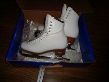 New listing Riedell Size 4 1/2 White Stride Ice Skates