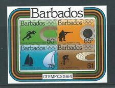Barbados 1984 Olympic Games. Los Angeles MS 749