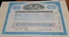 General Motors Company Common Stock Certificate Delaware