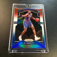 RJ BARRETT 2019 PANINI PRIZM #250 RED WHITE BLUE REFRACTOR ROOKIE RC NY KNICKS
