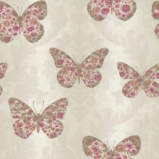 Paper Damask Contemporary Wallpaper Rolls & Sheets