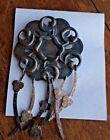 Mixed Metal Artsy Dramatic Pin Brooch Jewelry (Rustic Steampunk)