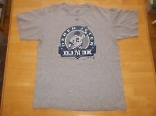 Derek Jeter New York Yankees T Shirt DJ3K 3000 Hit Majestic Men's M Medium Gray
