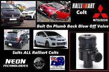 Mitsubishi Ralliart Colt BOLT ON Plumb Back Blow Off Valve *34mm BOV RCOLT*