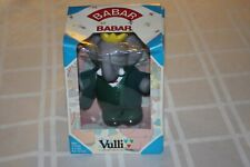 "VULLI BABAR LE PETIT ELEPHANT -  RARE - New - 6 3/4"" TALL - HARD RUBBER FIGURE"