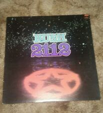 Rush 2112 unusual 1985 repress vinyl LP