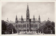 AK, Foto, Wien 1. Bezirk - Rathaus, 1919 (D)5026-4