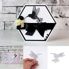 Decor Photo Album Embossing Stencil Scrapbooking Hummingbird Cutting Dies