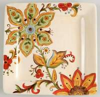 Pier 1 CARYNTHUM Square Dinner Plate 8102103