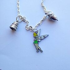 Peter Pan Wendy TINKERBELL Acorn ditale COLLANA 24 ""