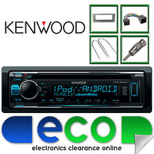 Fiat Punto 2005-14 KENWOOD CD MP3 AUX USB Car Stereo Radio Upgrade Kit CT24FT08