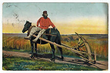Russian Types, Man and his Plough, Russia to Germany, 1911