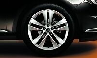 "Vauxhall ASTRA J 18 ""DOUBLE SPOKE RUOTE IN LEGA X 4 SILVER 13254959 NUOVO"