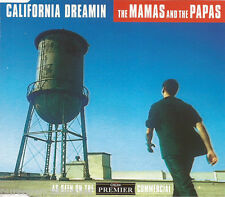 THE MAMAS AND THE PAPAS - California Dreamin (UK 3 Tk CD Single)