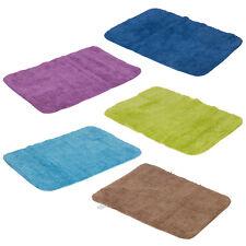 100% Cotton Bath Mat Shower Plush Absorbent Bathroom Rug Luxury Colour Design