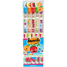 Smencils Scented Graphite #2 Pencils 5 Pack - 5 Different Scents - DKLDX05T20