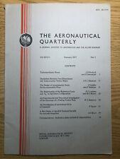 The Aeronautical Quarterly (Royal Aeronautical Society Journal) RARE Feb 1977