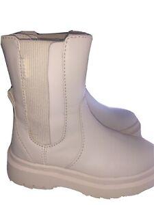 Zara Kids Cream Boots UK 11 Eu 29