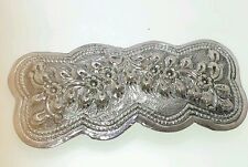 Victorian Style Handmade Sterling Silver 925 Hair Clip