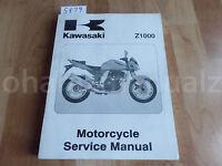2008 KAWASAKI Z1000 Service Manual OEM