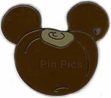 BUCKEYE LOOKS LIKE CHESTNUT FOOD SERIES Hidden Mickey CAST LANYARD Disney PIN