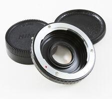 Contax Yashica C/y Lente Nikon Adaptador de cámara de enfoque Infinito Optic