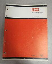 Case 26C Backhoe Parts Catalog Manual A1207 1973