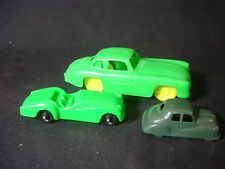 Old Vtg Collectible Plastic Toy Car  Lot 3