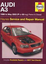 Audi A3 Petrol and Diesel Service and Repair Manual: 1996 to 2003 (Haynes Serv,
