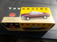 VA34002-- FORD CAPRI 109E IN IMPERIAL MAROON/WHITE--GOOD CONDITION/BOXED
