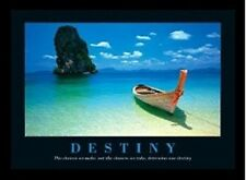 "Destiny motivational poster 24x36"" Boat in Phuket Thailand"