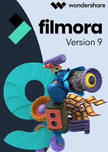 Filmora 9 - ESD - Wondershare - Videoschnitt - Videoeditor - Videobearbeitung