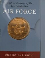 Collectable - Royal Airforce - 80th Anniversary $1 Coin - Royal Australian Mint