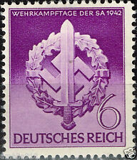 WWII German Reich 1942 Storm Trooper Military Badge Stamp MNH