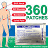 Salonpas Pain Relieving Patch Arthritis Back Relief 360 Patches Hisamitsu
