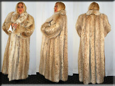 New Russian Lynx Fur Coat Size 4XL Efurs4less