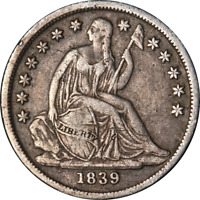1839-O Seated Liberty Dime Choice VF/XF Superb Eye Appeal Strong Strike